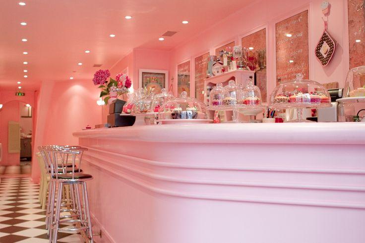 Chloe S. Cupcake shop in Paris.