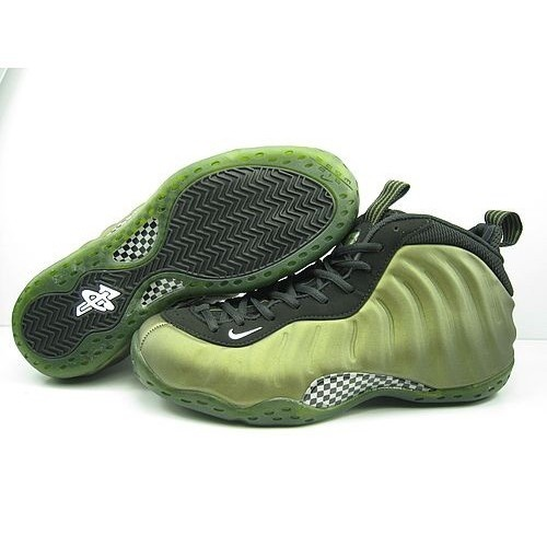 Recommend Nike Foamposite 1 One Penny Hardaway Fluorescent Green Basketball  Shoes For US$64.00 Go To