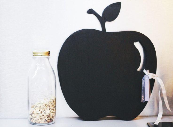 jabłko - do pisania kredą  w fandoo na DaWanda.com