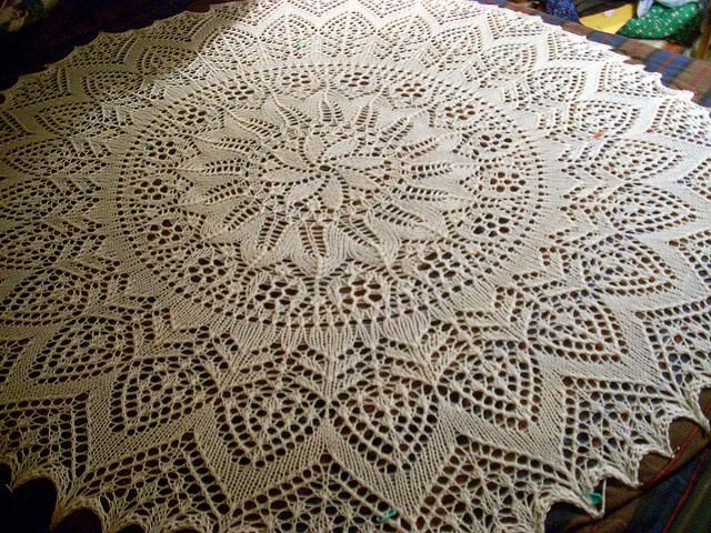 Stor Lysedug, a vintage pattern
