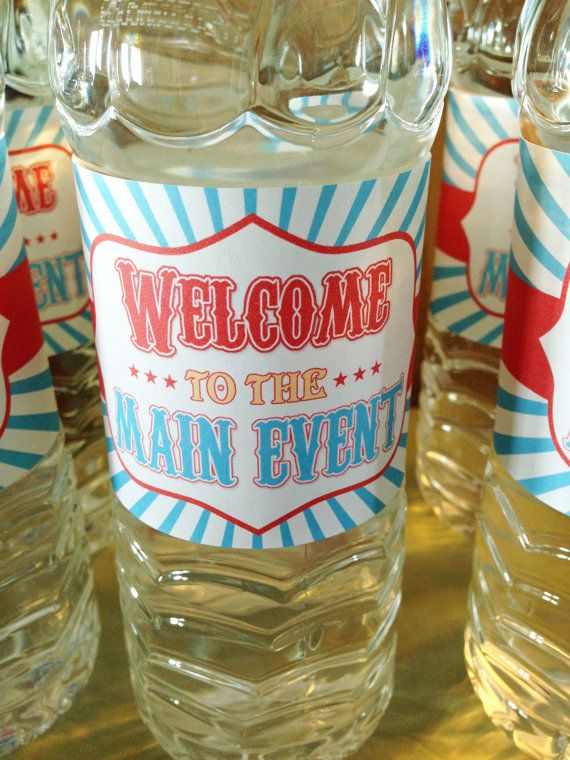 Hey, I found this really awesome Etsy listing at https://www.etsy.com/listing/195000453/carnival-themed-birthday-party-water