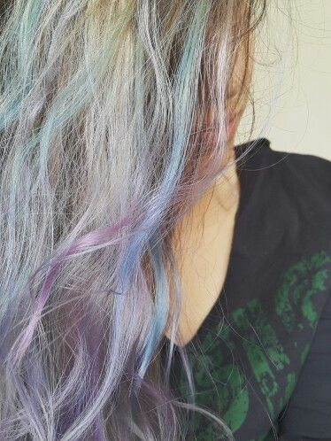 This is not a #goal anymore #unicorn #pink #purple #blue #hairspirations #egetunca