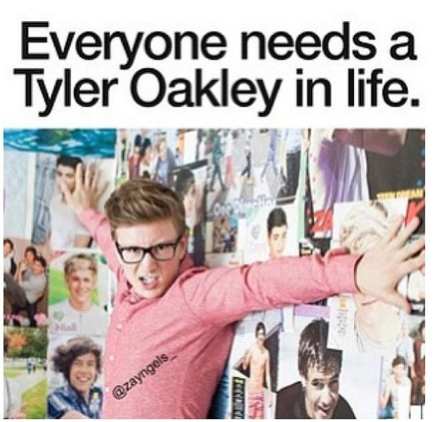 Everyone needs a Tyler Oakley in life.