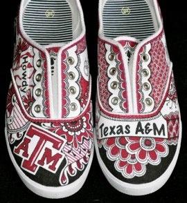 Custom Tennis Shoes #104