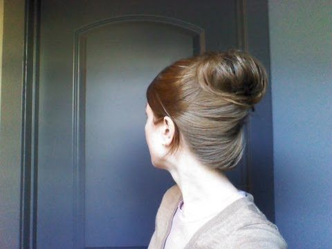 Quick and Easy Updo. My hair is definitely to long to do this, but good to know for doing other people's hair :)