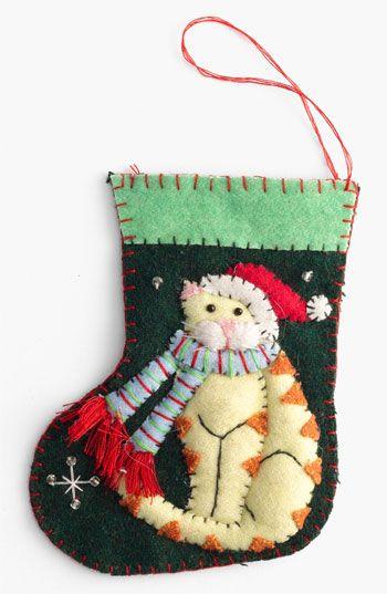 best 25  cat christmas stocking ideas on pinterest