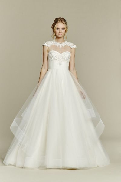Blush by Haley Paige Trunk Show at JLM Couture July 10-12: http://www.stylemepretty.com/2015/07/07/tara-keely-and-blush-by-hayley-paige-trunk-show/