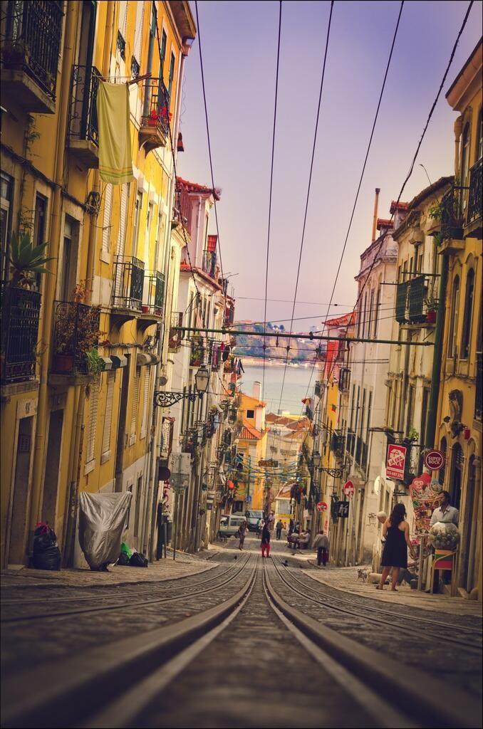 Lisboa e il suo bairo alto