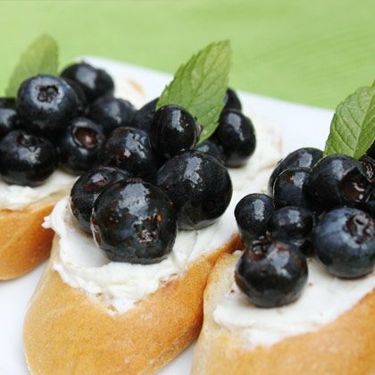Blueberry Bruschetta | Brunch | Pinterest | Bruschetta, Blueberries ...