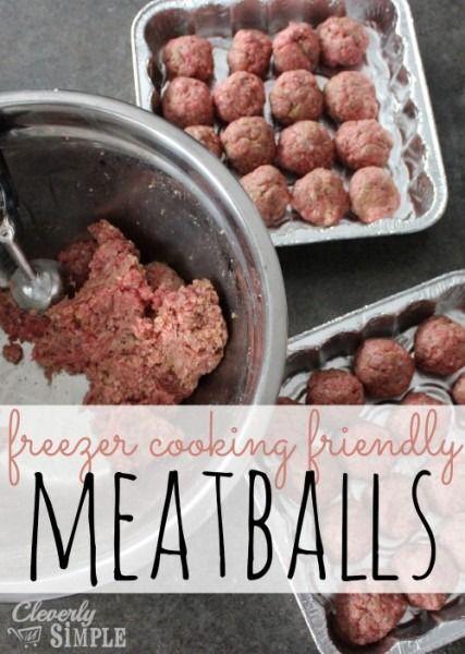 how to cook frozen homemade meatballs