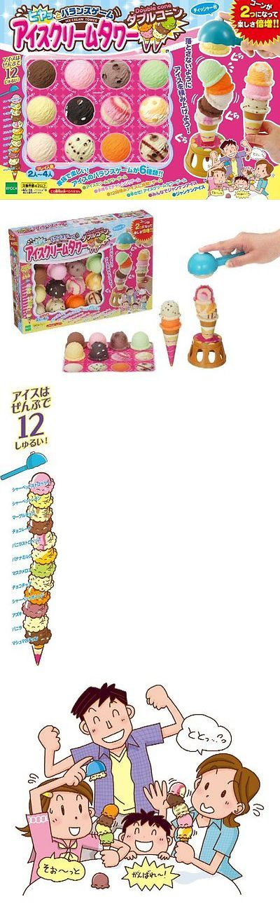 Plastic Action Games 165969: Ice Cream Tower Double Cone Building Block Game Japan Toy :389 -> BUY IT NOW ONLY: $53 on eBay!