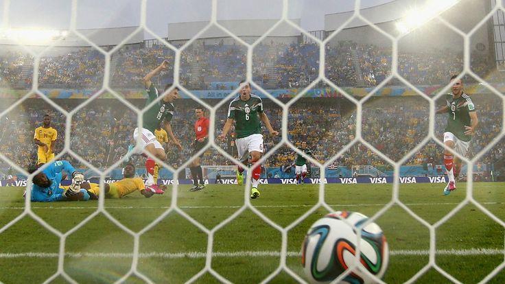 MEXICO 1-0 CAMEROON 13/06/2014