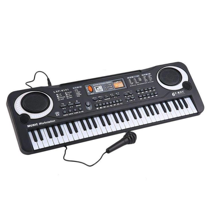 61 Keys Music Electronic Digital Keyboard Electric Organ Children Great Gifts With Micro #piano #keyboard #music https://seethis.co/ZZGd1O/