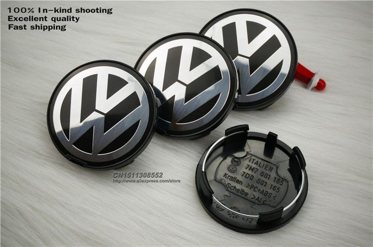 """Find More Emblems Information about [DHL] Best quality 100pcs 63mm VW Volkswagen Wheel Center Cap Emblem Badge P/N7Do 601 165 2.48"""" Volkswagen Hub Cap,High Quality cap clamp,China cap buyer Suppliers, Cheap cap microphone from Wheel hub cover manufacturer on Aliexpress.com"""