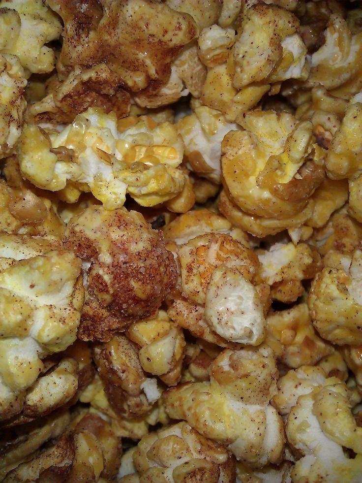Ice Cinnamon Roll Popcorn from Metropolis Popcorn
