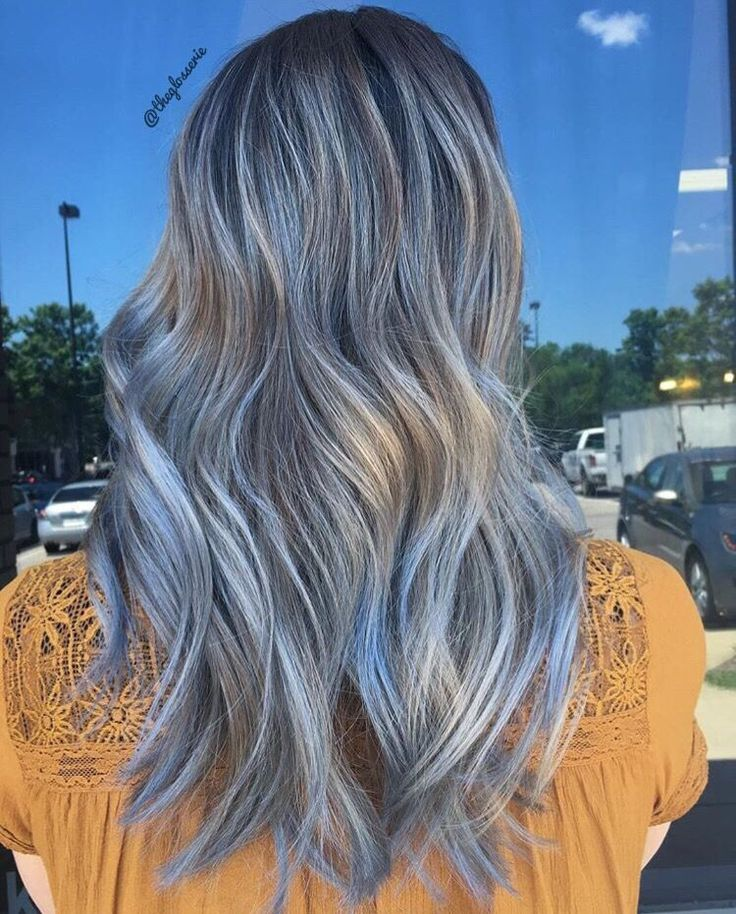 grey hair styles pictures best 25 blue hair balayage ideas on 7471