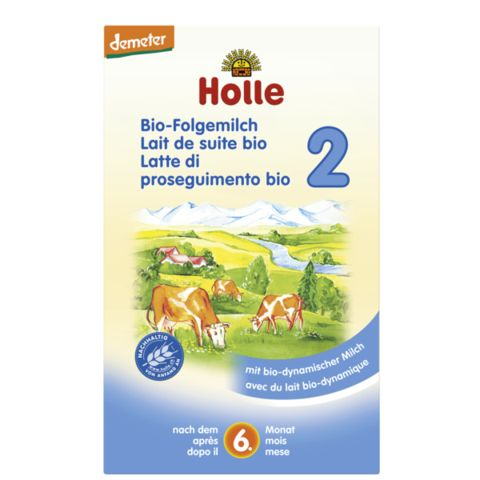 HOLLE Organic Stage 2 Holle Organic Formula Stage 2 is a follow-on milk that should be given to your baby after breastfeeding or to replace any other follow-on milk. It is meant to be used as part of the mixed diet and is supposed to be given as milk off bottle or in porridge. #breastmilk #babycare #babyfood #infant #babyformula #formula #hipp #glutenfree #organic