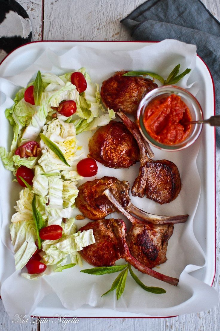 Lamb Cutlets How To Cook Salsa Rossa