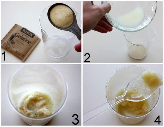 Homemade pore strips...1tablespoon of plain gelatin, 1 1/2-2 tablespoon of milk to make paste