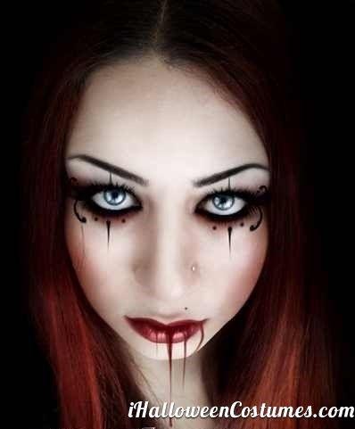 vampire makeup - Halloween Costumes 2013 | Spooktacular ...