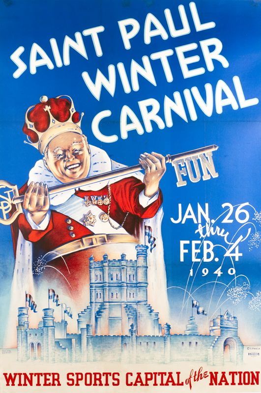 old images of the st. paul winter carnival | Saint Paul Winter Carnival - Winter Sports Capital of the Nation by ...