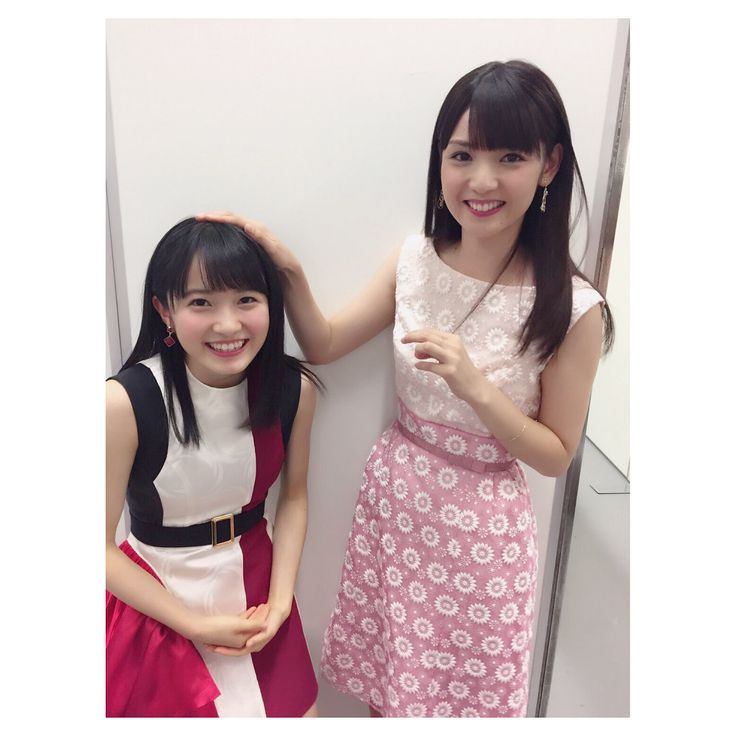 Sayumi Michishige & Chisaki Morito (Morning Musume. '17)
