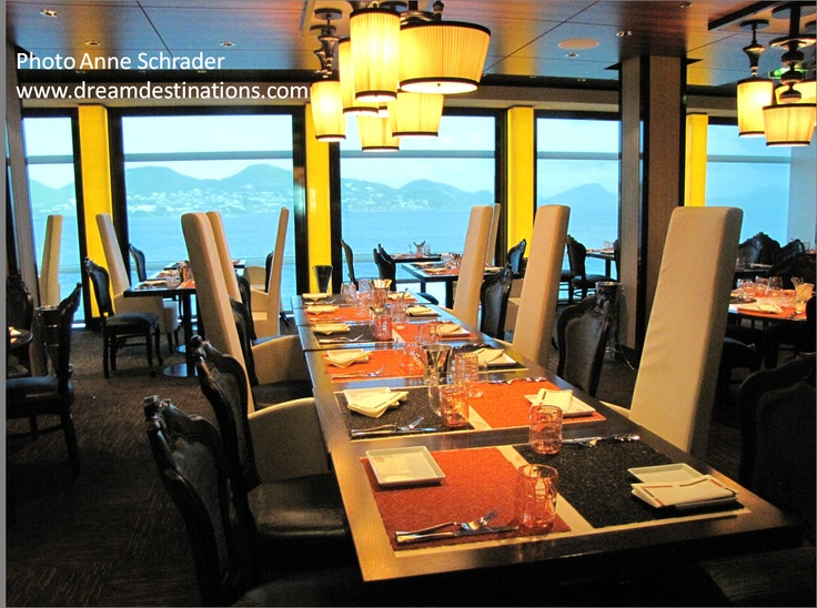 Dining on the Celebrity Silhouette Cruise Ship