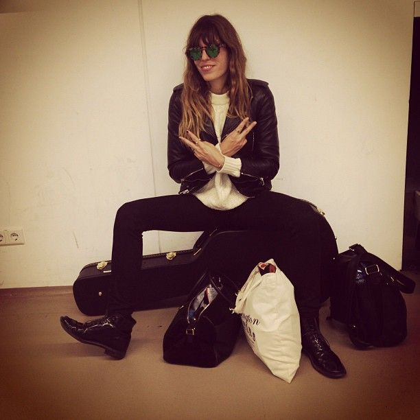 Our Favorite French Girls Of Instagram | Lou Doillon