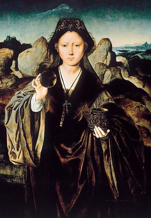 Мастер Магдалины Манси (раб ок1510-1525) - Мария Магдалина. Часть 3
