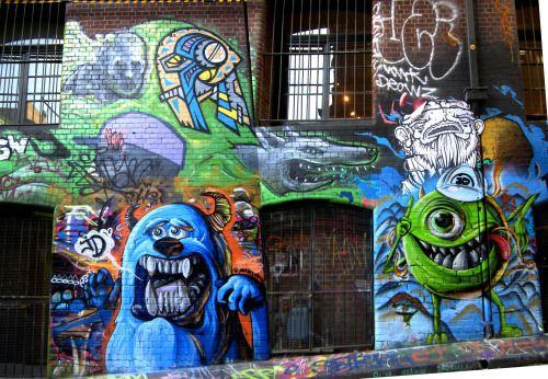 Monsters University piece, JD. Melbourne.