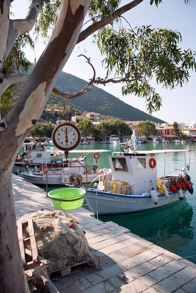 #MeinGriechenland Vasiliki Harbour, Lefkada, Greece