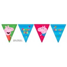 Wall Banner Flag style Peppa Pig