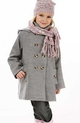 Выкройка детского пальто для девочки
