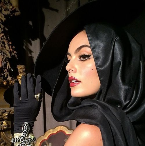 Ximena Navarrete as Maria Felix. Make up inspired.