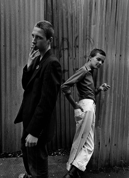 Anti-Racist Skinheads, Hoxton, London, 1978, Syd Shelton