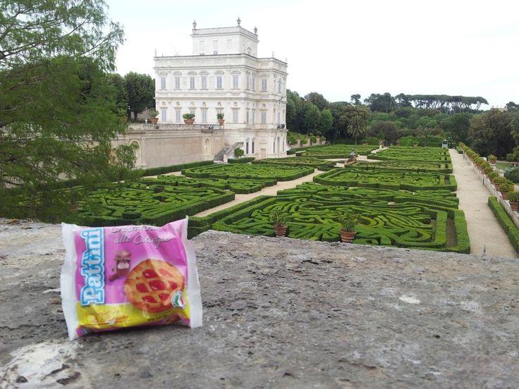 Colazione nel verde di #VillaPamphilj #Roma