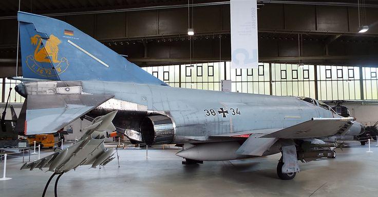 US McDonnell Douglas F-4F Phantom II 1975 Luftwaffe Museum Gatow Berlin