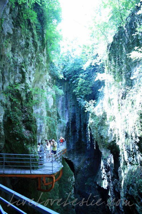 Gorges Du Fier / Haute Savoie / Rhone Alpes