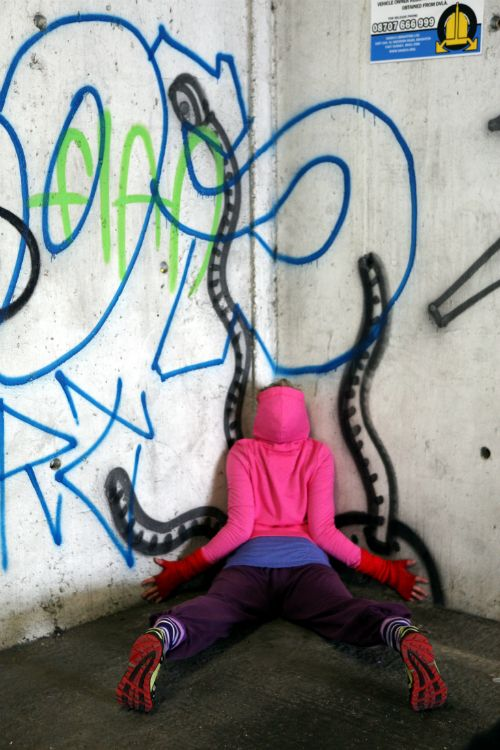 Urban anarchy in our crowded spaces - Art & About Festival Sydney. http://bit.ly/1pR7q1O Image: Lisa Rastl