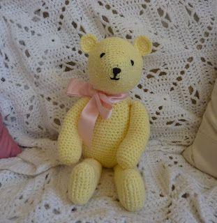 Cute Amigurumi Bear Free Crochet Pattern And Tutorial : Cute and Easy Crocheted Teddy Bear Amigurumi - FREE ...