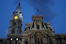 Philadelphia City Hall - truly a spectacle of fantastic architecture in the French Second Empire Style. The largest city capital in the country, and the world's second tallest masonry building. Designed by Scottish architect John McArthur Jr., and adorned with 250 sculptures by the great artist Alexander Milne Calder. The most impressive of these sculptures, is the 37 foot, 27 ton, bronze statue of the city founder, William Penn. The building was recently restored.