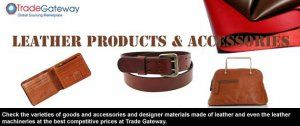 Leather Products Manufacturers and Traders - Delhi - free classified ads