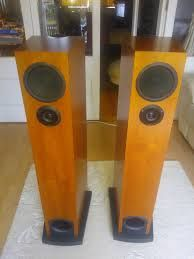 linn espek cherry (Active)- These are my current main speakers. Tri amp active. Seriously BIG sounding speakers - so terrifically dynamic. Love them.