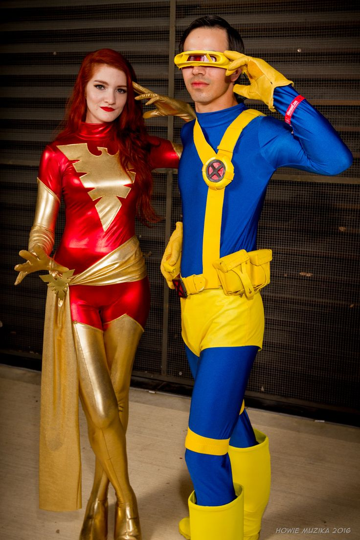 Phoenix and Cyclops   MEGACON 2016