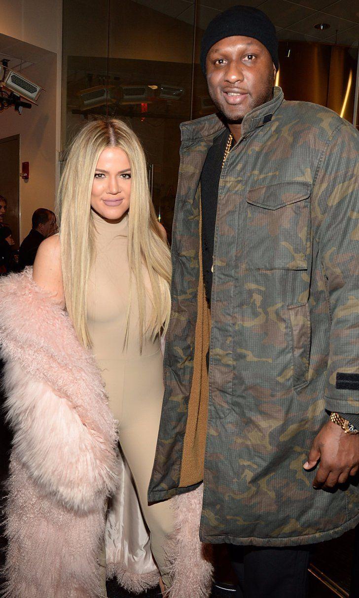 Lamar Odom Joins Khloé Kardashian at Kanye West's NYFW Show