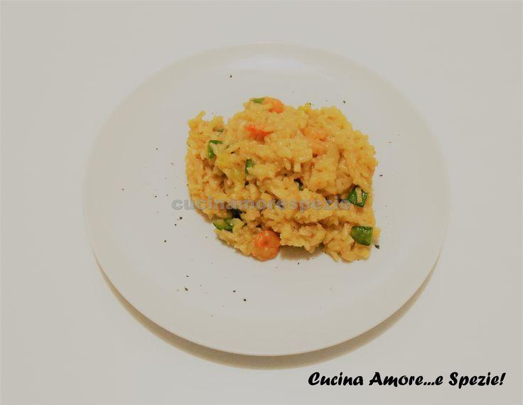 Il risotto zucchine e gamberetti ha un sapore molto delicato. E' un primo piatto molto semplice da realizzare, ma dall'effetto garantito.