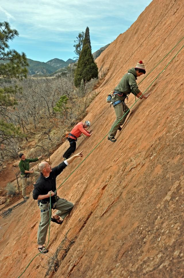 What are the 10 Types and Styles of Rock Climbing and Mountaineering?: TOPROPE CLIMBING
