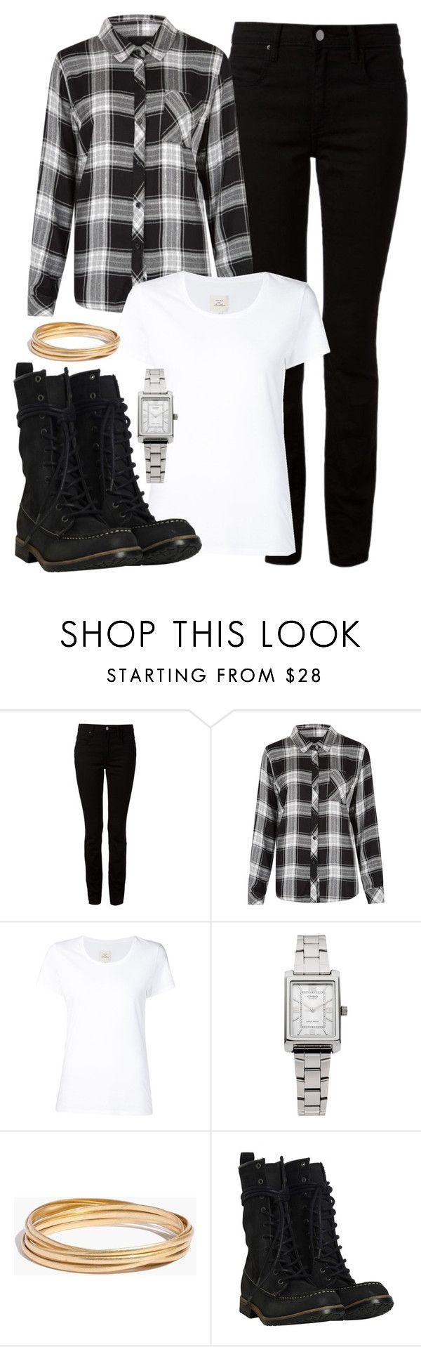 """""""Set 16"""" by bebe6121985 on Polyvore featuring moda, Alexander Wang, Rails, Max 'n Chester, Casio, Madewell i AllSaints"""