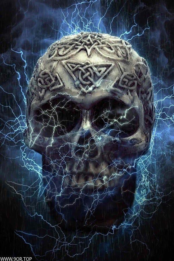 خلفيات مرعبه جدا صور رعب حقيقيه 2018 Skull Art Skull Live Wallpapers