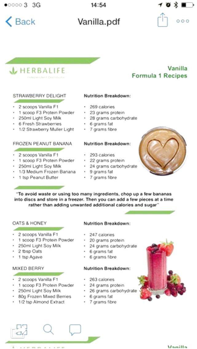 Pin On Herbalife Shake Recipes